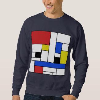 Het Sweatshirt van het Mannen van de Lijnen van