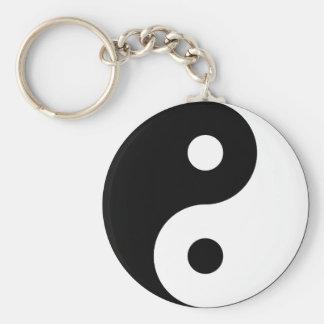Het Symbool Keychain van Yang van Yin Sleutelhanger