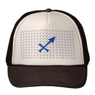 Het symbool van de Boogschutter Trucker Petten