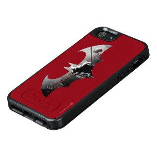 Het Symbool van de Knuppel van de Stad van Arkham OtterBox iPhone 5/5s/SE Hoesje