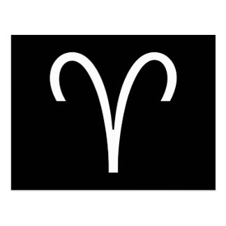 Het Symbool van de Ram Briefkaart