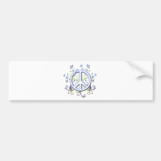 Het Symbool van de vrede Bumpersticker