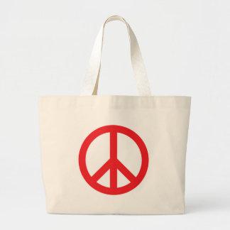 Het Symbool van de vrede - Rood Tas