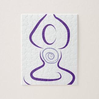 Het Symbool van de yoga Legpuzzel