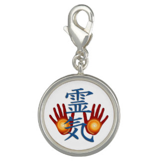Het Symbool van Handen REIKI + uw achtergrond Charm