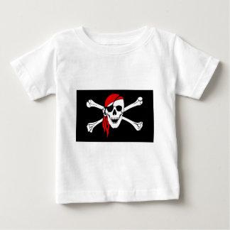 Het Symbool van het Gevaar van de Schedel van het Baby T Shirts
