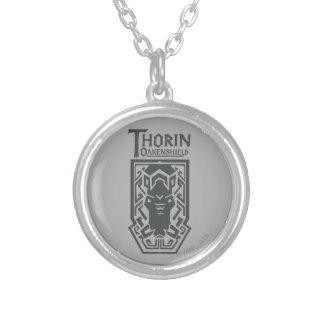 Het Symbool van het Schild THORIN OAKENSHIELD™ Zilver Vergulden Ketting