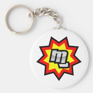 Het Symbool van MG Sleutelhanger