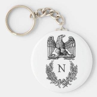 Het Symbool van Napoleon Basic Ronde Button Sleutelhanger
