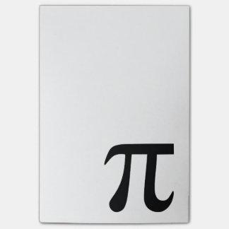 Het Symbool van pi Post-it® Notes