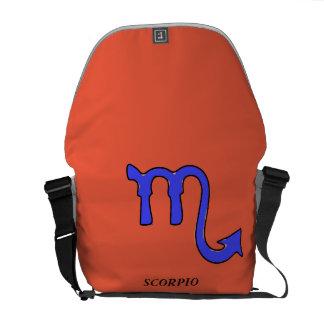 Het symbool van Schorpioen Messenger Bag