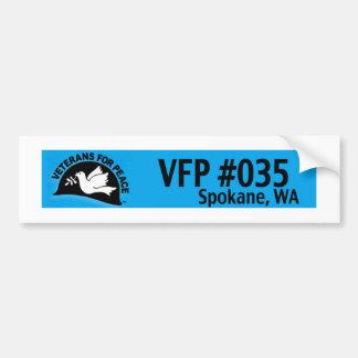 Het Symbool van VFP Spokane Bumpersticker