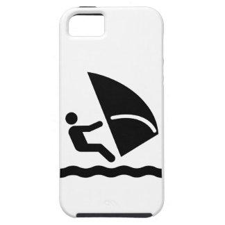 Het Symbool van Windsurf Tough iPhone 5 Hoesje