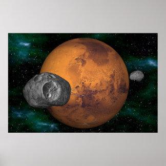 Het systeem van de Marsbewoner Poster