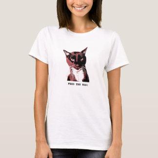 Het t-overhemd-Voer van de Kat van de smoking het T Shirt