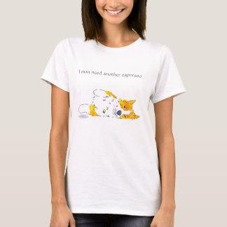 Het T-shirt van Corgi van de espresso