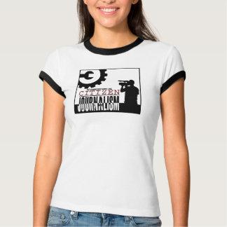 """Het T-shirt van de Bel van de """"Journalistiek van"""