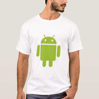 Het T-shirt van de Bemanning van androïde Dames
