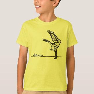 Het T-shirt van de Dans van Hip Hop
