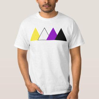 Het T-shirt van de Driehoek van de Trots van