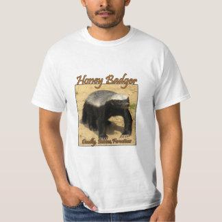 Het T-shirt van de Feiten van de Das van de honing