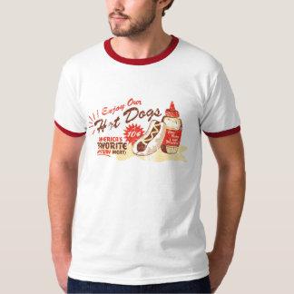 Het t-shirt van de hotdog