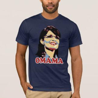Het t-shirt van de Kleur van Palin Omama van Sarah