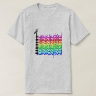 Het T-shirt van de kolibrie