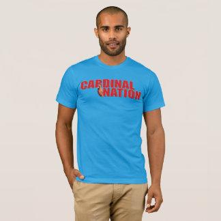 Het T-shirt van de Natie van kaarten