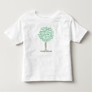Het t-shirt van de peuter