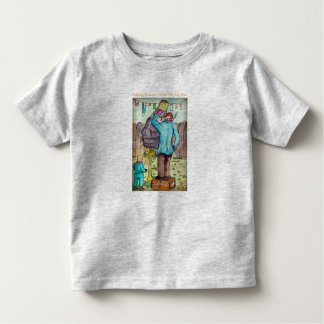 Het T-shirt van de peuter - de Banden van de Bouw
