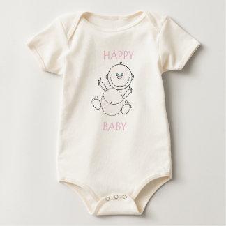 Het T-shirt van de peuter, Gelukkig Baby