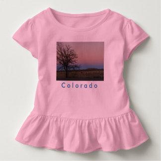 Het T-shirt van de Ruche van Colorado van de