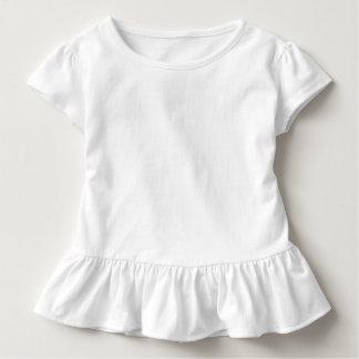 Het T-shirt van de Ruche van de peuter