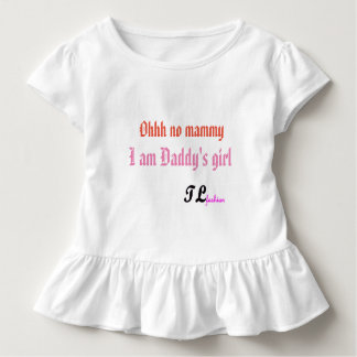 Het T-shirt van de Ruche van de peuter door