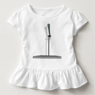 Het T-shirt van de Ruche van de Peuter van de