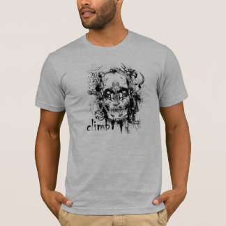 Het T-shirt van de Schedel van de Bergbeklimming