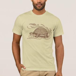 Het T-shirt van de schildpad in Bruin