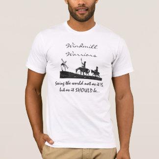 Het T-shirt van de Strijders van de windmolen