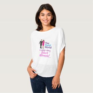 Het t-shirt van de Stroom van het Logo van de