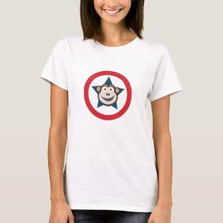 Het T-shirt van de super Vrouwen van de Aap T Shirt