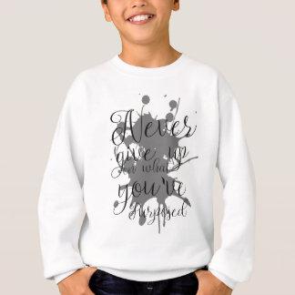 Het t-shirt van de typografie