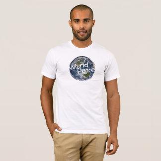 Het T-shirt van de Vrede van de wereld