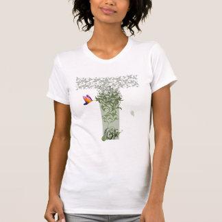 Het T-shirt van de Vrouwen van de Gedachten van