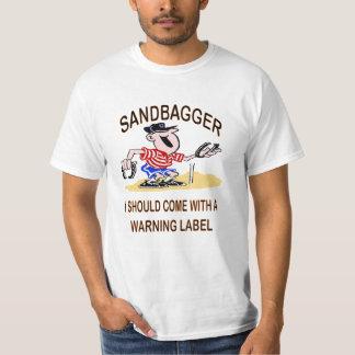 Het T-shirt van de Waarde van Sandbagger van de