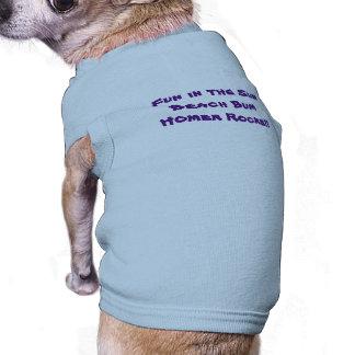 Het T-shirt van Doggie van de Bedelaar van het Mouwloos Hondenshirt