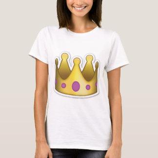 Het T-shirt van Emoji van de kroon