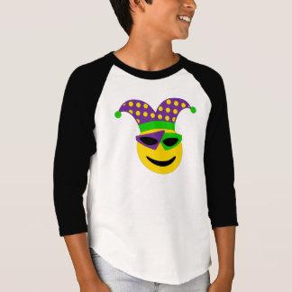 Het T-shirt van Gras Emoji van Mardi
