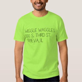 Het T-shirt van het adres