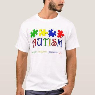Het T-shirt van het autisme
